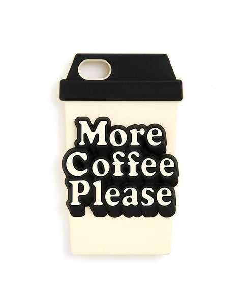 Ban.do iPhone 7 Case - More Coffee Please