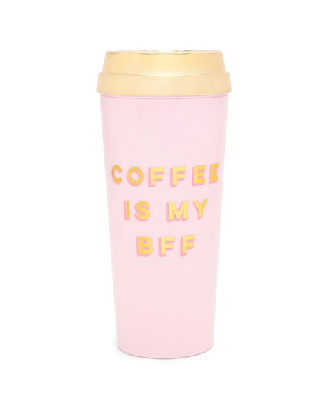 Ban.do Hot Stuff Deluxe Thermal Mug - Coffee Is My BFF