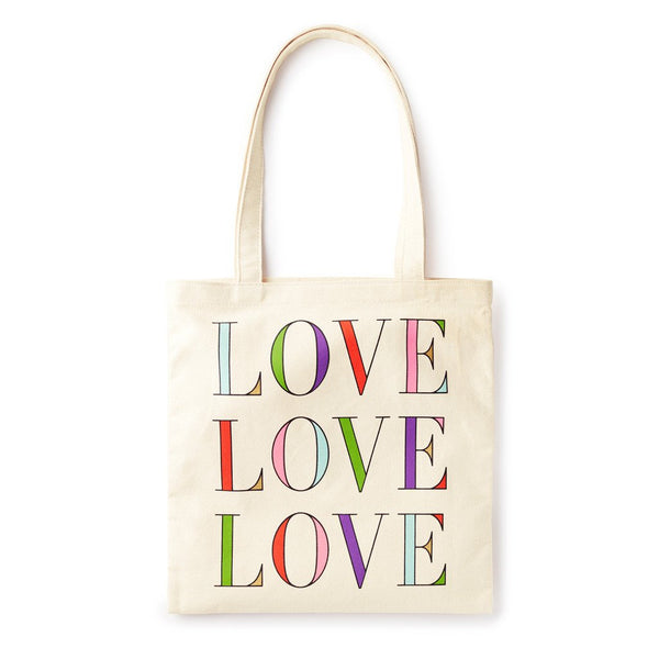 kate spade new york Canvas Book Tote - Love Love Love