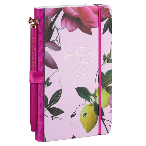 Ted Baker Mini Notebook Citrus Bloom