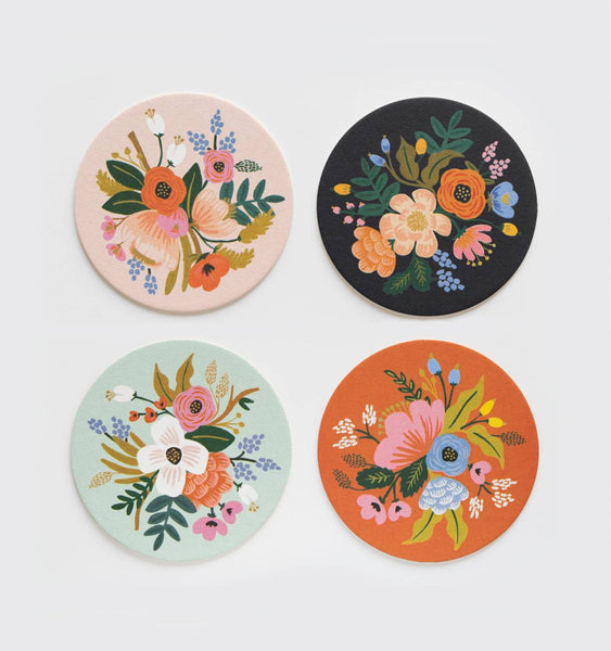 Rifle Paper Co. Coaster Set - Lively Floral