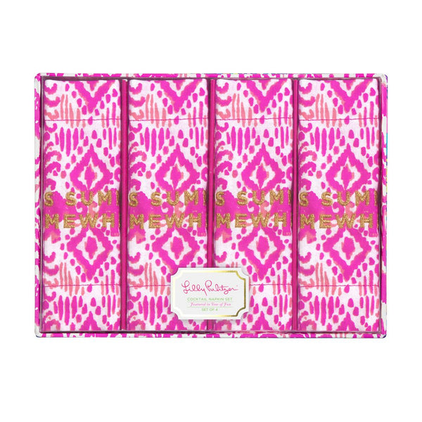 Lilly Pulitzer Cocktail Napkins - Tons Of Fun
