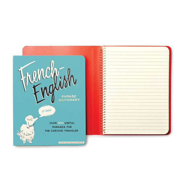 kate spade new york Concealed Spiral Notebook - French Dictionary