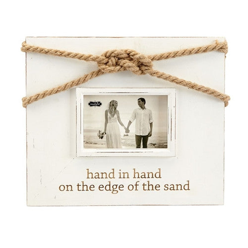 Mud Pie Hand in Hand Knot Frame