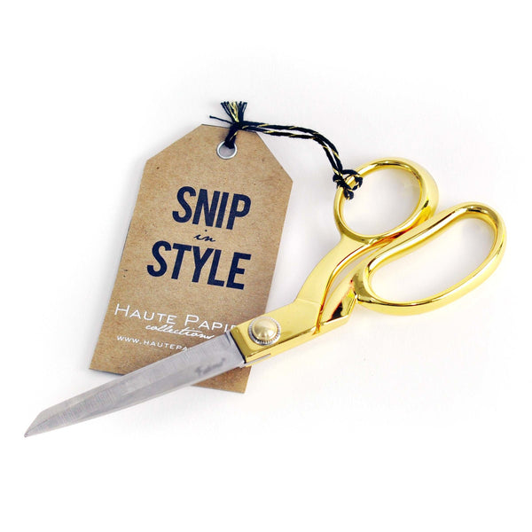 Haute Papier Scissors Gold