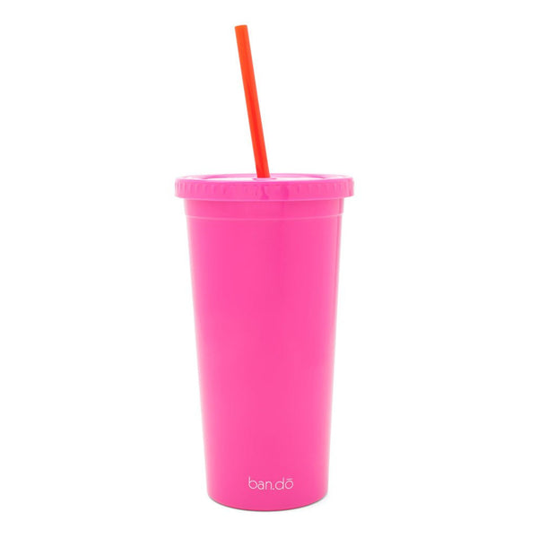 Ban.do Sip Sip Tumbler With Straw - Here Comes the Fun