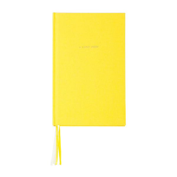 Kate Spade journal yellow a likely story