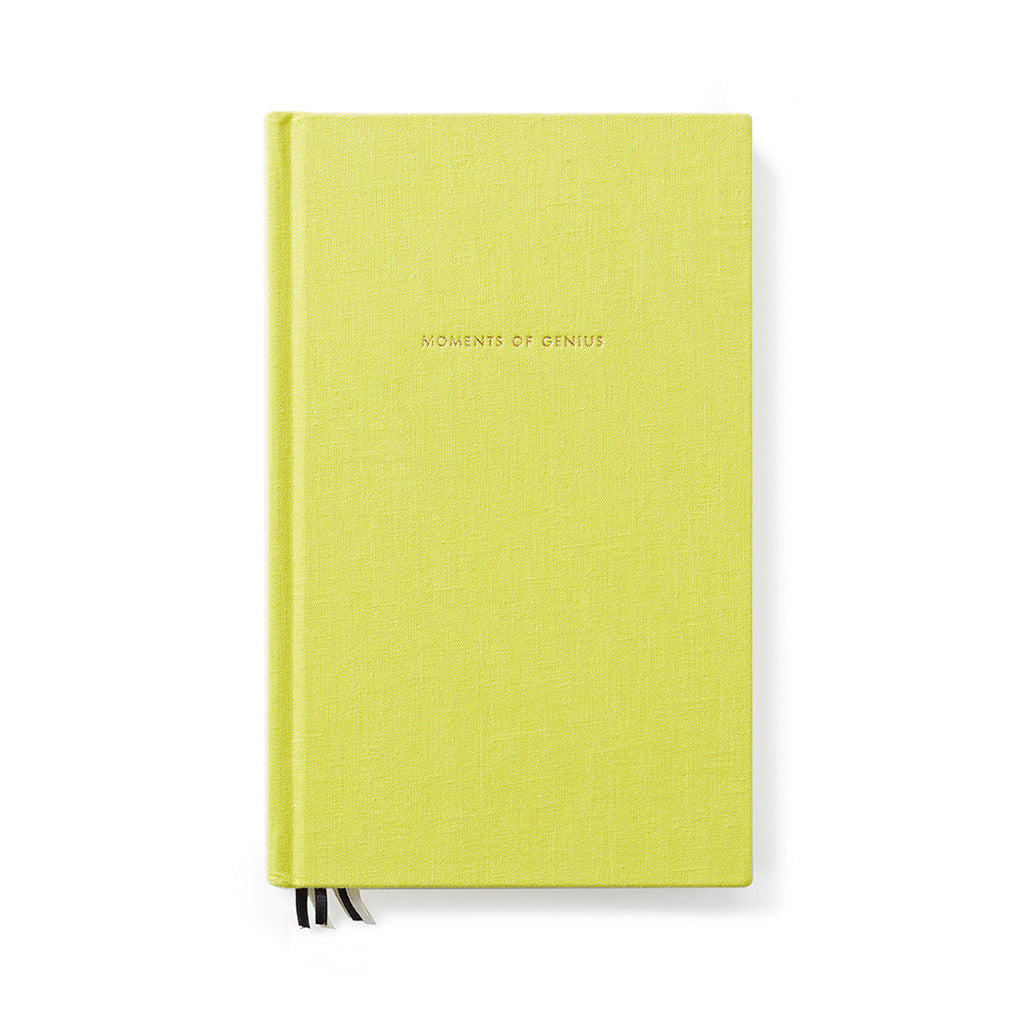 Kate Spade journal green moments of genius