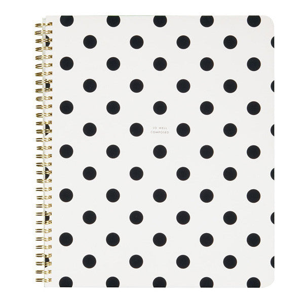 Kate Spade Large Spiral Notebook so well composed