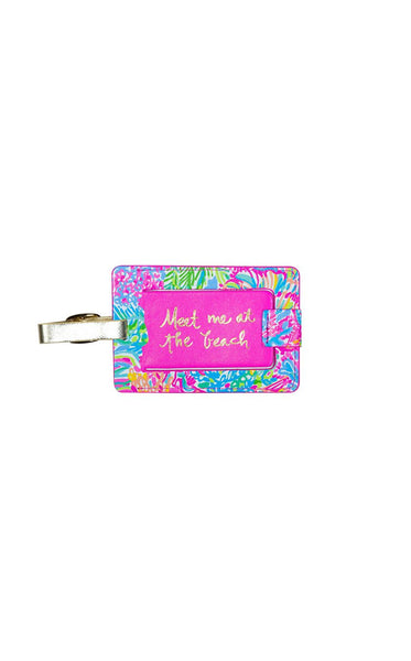 Lilly Pulitzer Luggage Tag and Passport Holder Lover's Coral