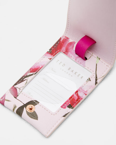 Ted Baker Travel Set Passport Holder and Luggage Tag