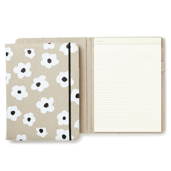 kate spade folio notepad notebook write note