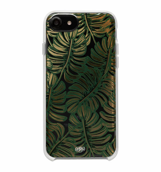 Rifle Paper Co. iPhone 6/7/8 Case - Clear Monstera