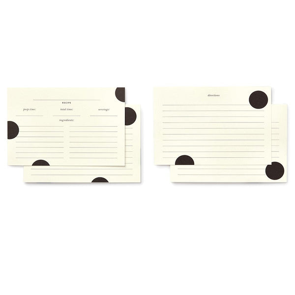 kate spade new york recipe card refills