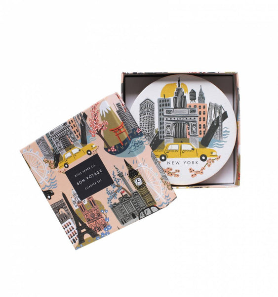 Rifle Paper Co. Coasters Cities