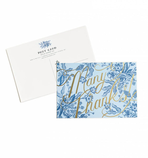 Rifle Paper Co. Postcard Tolie Thank You