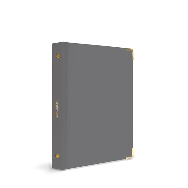 Russell+Hazel Mini Binder Charcoal