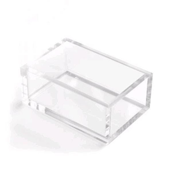 Business card holder Clear Acrylic Kate Spade Russell and Hazel
