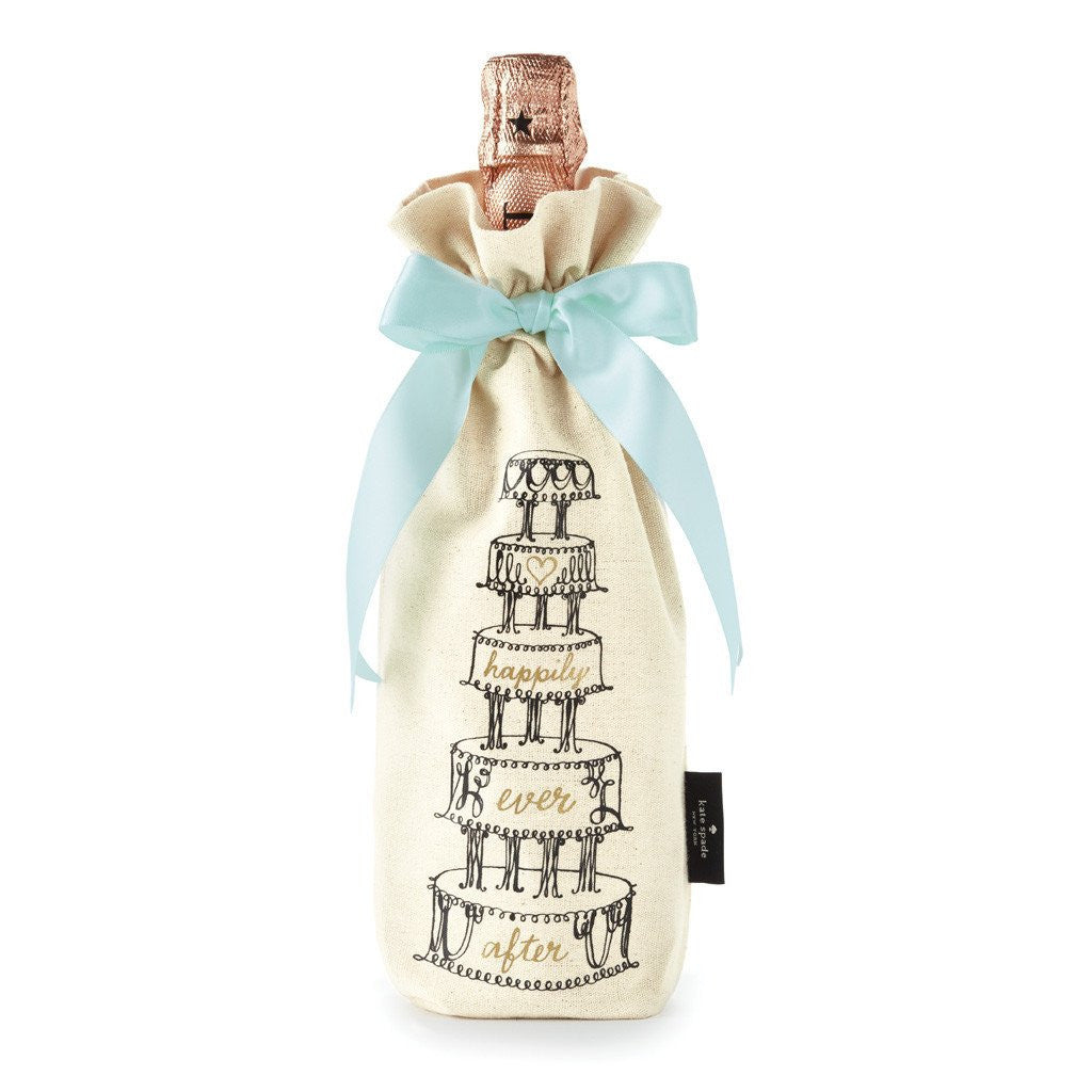 kate spade new york bridal wine tote - happily ever after