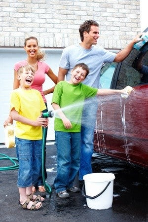 Fun Family Activities While Washing Your Car