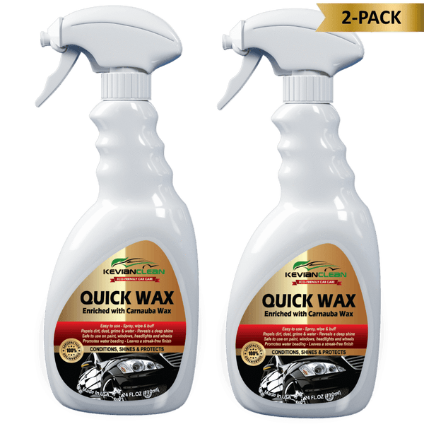 KevianClean:Quick Wax,2-Pack