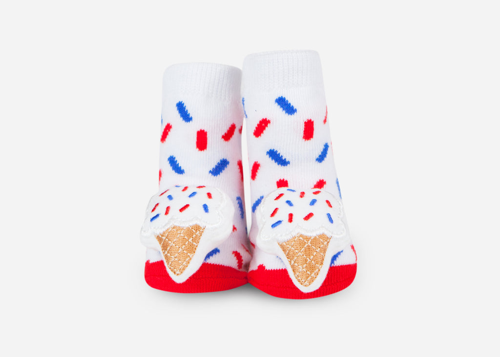ice cream single pair baby socks