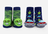 Alien & UFO Rattle Socks
