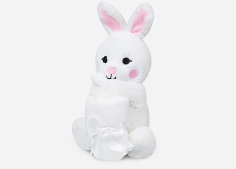 Bunny Rattle Lovie