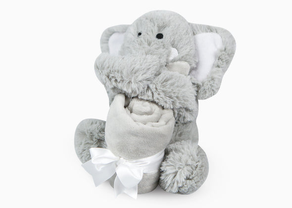 Elephant Rattle Lovie
