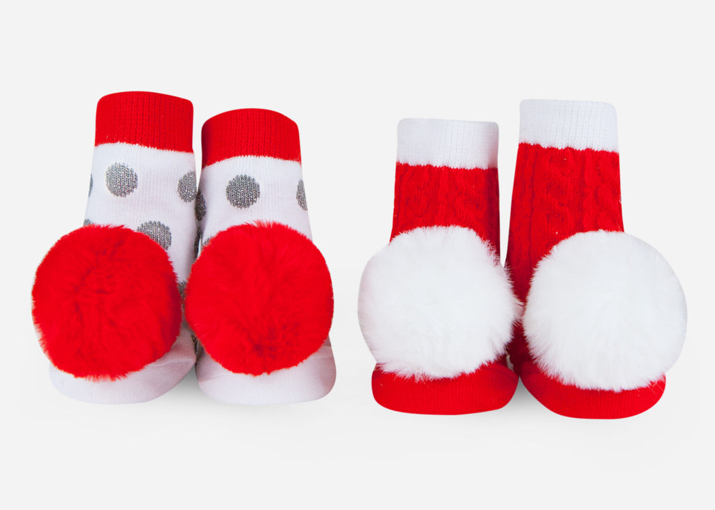Holiday baby socks