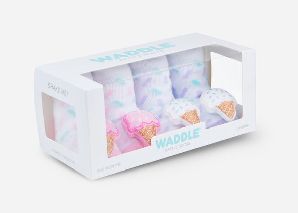 ice cream baby socks