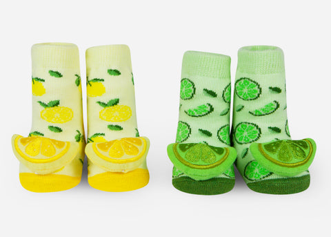 Fruit baby socks
