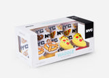 NYC Pretzel & Pizza Rattle Socks