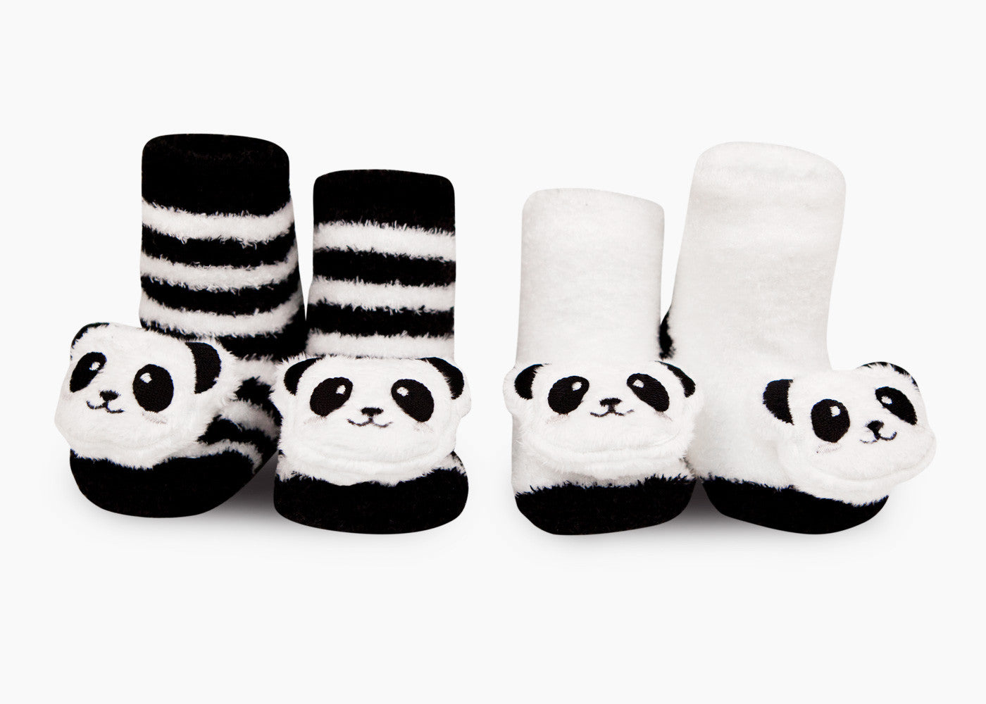 Panda Rattle Socks Waddle
