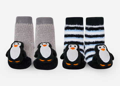 Penguin baby socks