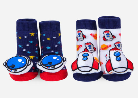 Space Rattle Socks