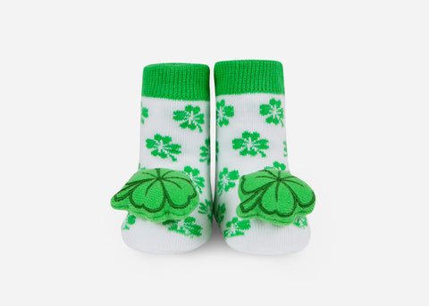 St. Patricks Rattle Socks- 1 Pair