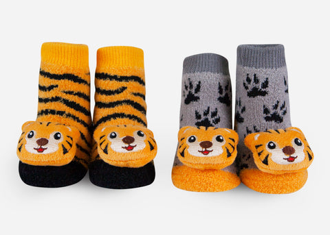 Tiger baby socks