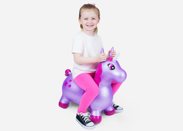 Unicorn Bouncer - Purple