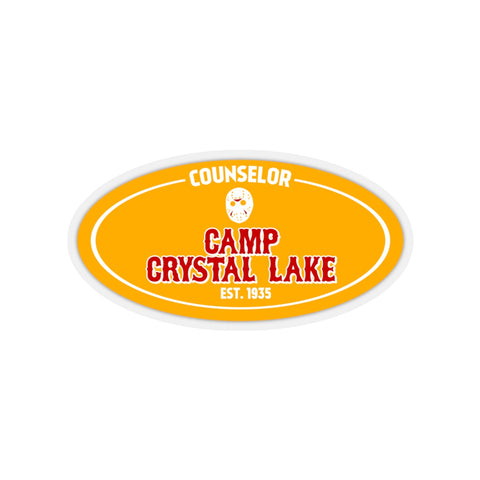 Camp Crystal Lake Couselor (Sticker)
