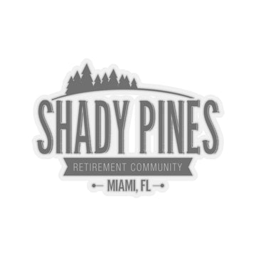Shady Pines (Sticker)