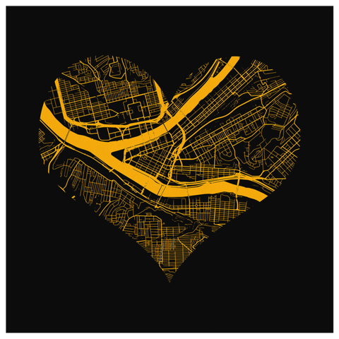 Heart of the City - Pittsburgh (Wall Art)
