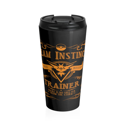 Team Instinct Trainer (Travel Mug)
