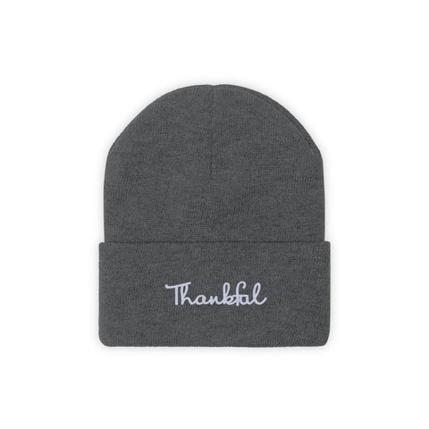Thankful (Knit Beanie)