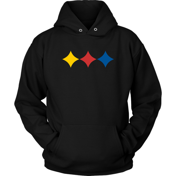 Steel City Three Star (Hoodie)
