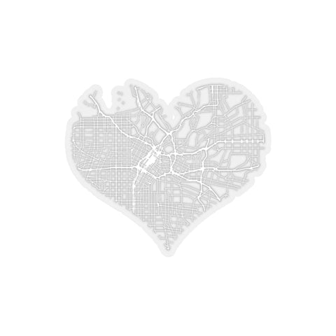 Heart of the City - LA (Sticker)