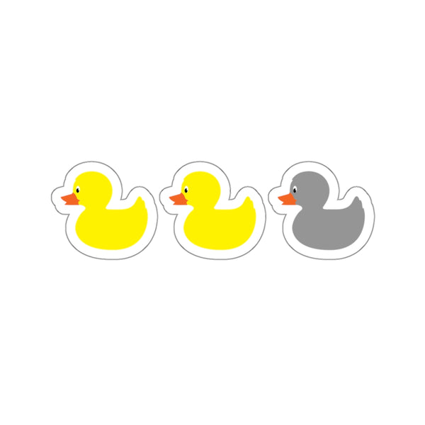 The Original Duck Duck Gray Duck (Sticker)