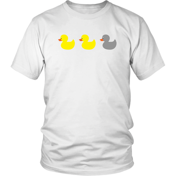 The Original Duck Duck Gray Duck (T-Shirt)
