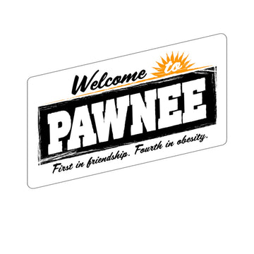 Welcome to Pawnee (Sticker)