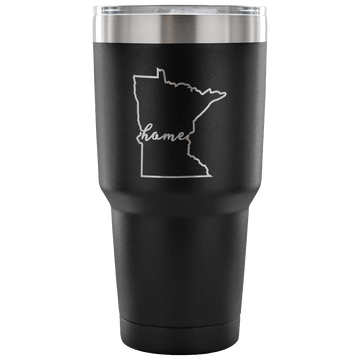 Minnesota Home - Script (Travel Mug)